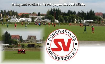 Foto zu Meldung: A-Jugend verliert 1. Heimspiel mit 0:3 gegen die  JSG Börde