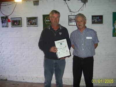 Bernd Bruhn und Klaus Peters
