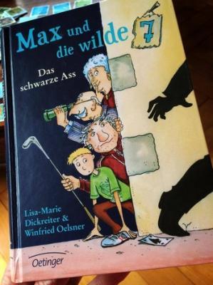 Vorschaubild zur Meldung: Buchvorstellung: Max und die wilde 7