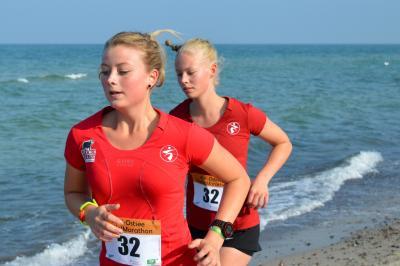Foto zu Meldung: 9. AOK-Ostsee Staffelmarathon auf dem Darss