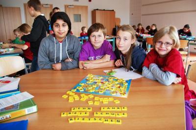 Foto zur Meldung: Festwoche- Schulhausrallye