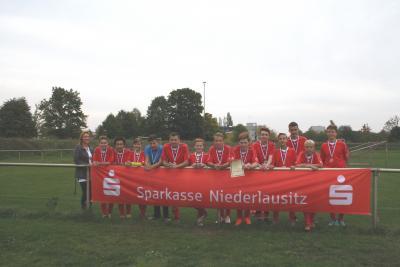 Foto zur Meldung: Finale Jugend trainiert, Fußball WK III in Senftenberg