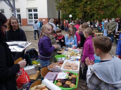 """Foto zur Meldung: Herbstfest in der Grundschule """"Teupitz am See"""""""