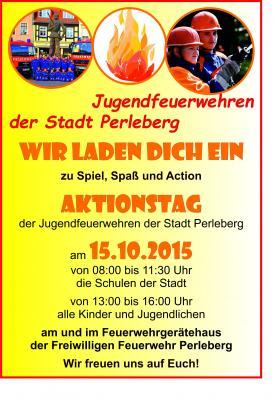 Foto zur Meldung: Aktionstag der Jugendfeuerwehren der Stadt Perleberg