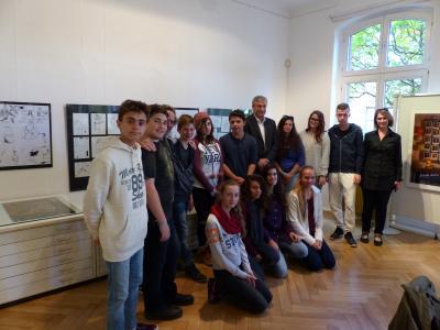 Foto zur Meldung: Israelischer Besuch beim Creativen Zentrum - Haus am Anger setzt Jugendaustausch fort
