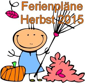 Vorschaubild zur Meldung: Ferienpläne Herbst 2015