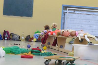 Foto zur Meldung: Bewegungsförderung für die ganz Kleinen