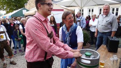 Foto zur Meldung: 1. Urbarer Klosterwies'n ein voller Erfolg!