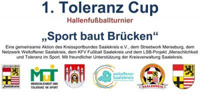 Foto zur Meldung: 1. Toleranz Cup - Hallenfußballturnier