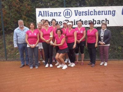 Foto zur Meldung: Die Abteilung Tennis in Siegerlaune