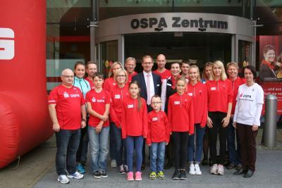 Foto zu Meldung: SC Laage beim Anlegerforum der OSPA dabei