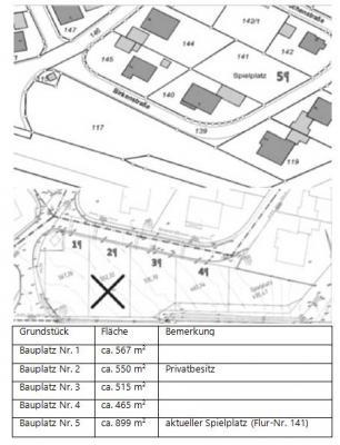 """Foto zur Meldung: Vermarktung der Baugrundstücke in der Erweiterungsfläche Baugebiet """"Mainstockheimer Weg"""