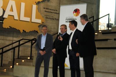 Foto zur Meldung: Tag des Amateurfußballs im Deutschen Fußballmuseum