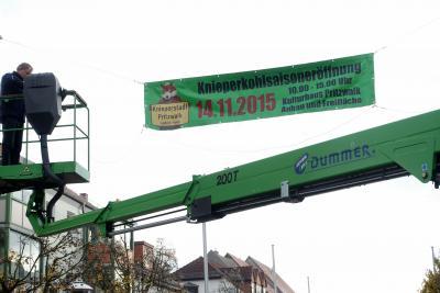 Foto zu Meldung: Eröffnung der Kniepersaison 2015/16 mit regionalem Erzeugermarkt und Knieperessen