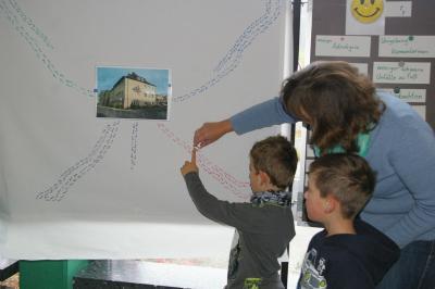 Foto zur Meldung: In die Schule GEH ich gern