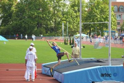 Friedrich Haaser auf dem Weg zum Landesmeistertitel