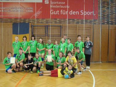 Foto zur Meldung: Finale Jugend trainiert, Handball WK III m+w