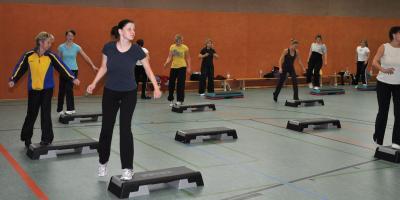 Foto zur Meldung: 17. Aerobic-Marathon