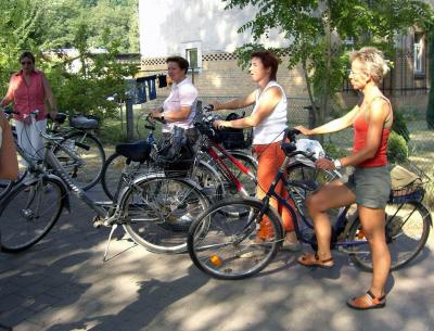 Foto zur Meldung: Fahrradausflug nach Kreba-Neudorf