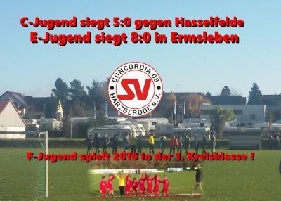 Foto zu Meldung: E- u. C- Jugend siegen , F-Jugend spielt 1.Kreisklasse ab 2016