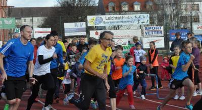 Foto zur Meldung: 1. Lauf - Paarlaufserie 2015/16