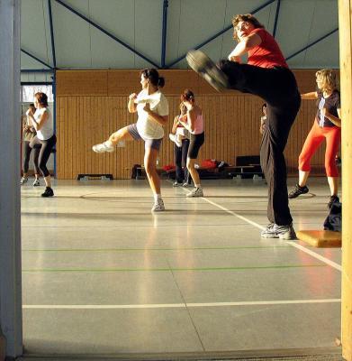 Foto zur Meldung: 9. Aerobic-Marathon