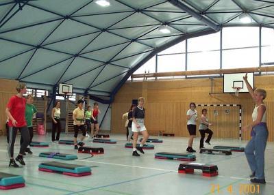 Foto zur Meldung: Aerobicmarathon - Vorschau & Rückblick