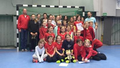 Foto zur Meldung: Mädchen Team Cup 2015 in Hannover