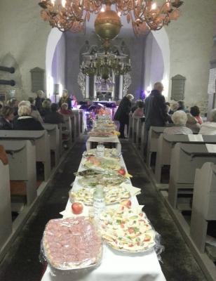 Foto zur Meldung: Benefiz-Dinner für Rehfelder Kirche