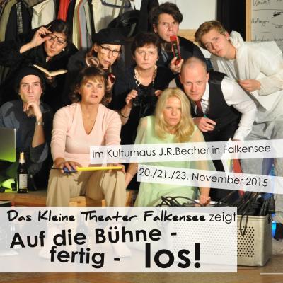 Foto zu Meldung: Premiere des Kleinen Theaters und die Samstagsvorstellung sind ausverkauft!