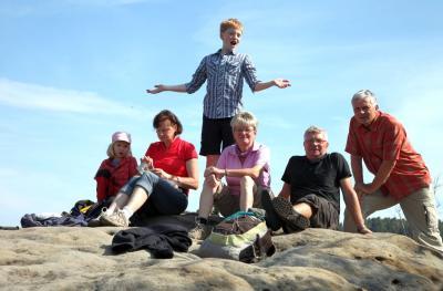 Foto zur Meldung: 4. Spezialwanderung: Stiegentour - 2. Versuch