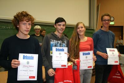 Die Preisträger der 55. Mathematikolympiade des Landkreises Oberspreewald-Lausitz