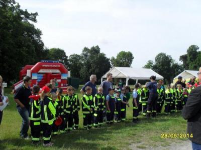 Foto zu Meldung: 1. Verbandskinderfeuerwehrtag des Verbandes Köthen-Zerbst/Anhalt e.V.