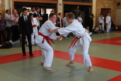 Foto zur Meldung: Nicklas Dietz qualifiziert sich für die Norddeutschen Einzelmeisterschaften U15