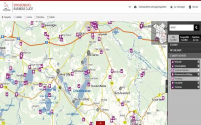 Foto zur Meldung: Brandenburg Business Guide mit neuem Service