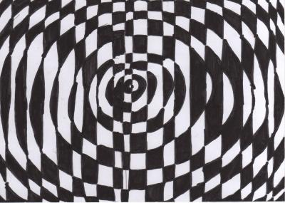 Vorschaubild zur Meldung: Classe 4b: Illusion d'optique