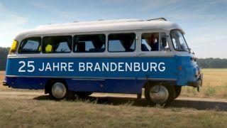Vorschaubild zur Meldung: Der blaue Robur - Bus vom rbb am Samstag nach Schwarzenburg unterwegs