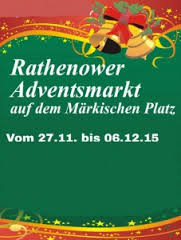 Foto zur Meldung: Adventsmarkt in Rathenow