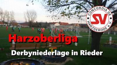 Foto zu Meldung: Harzoberliga : 2:1  Derbyniederlage in Rieder