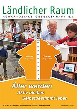 """Foto zur Meldung: PUBLIKATION: """"Älter werden – aktiv bleiben –selbstbestimmt leben"""""""