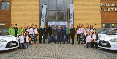 Foto zur Meldung: Skurios Volleys Borken sind ab sofort noch sportlicher unterwegs