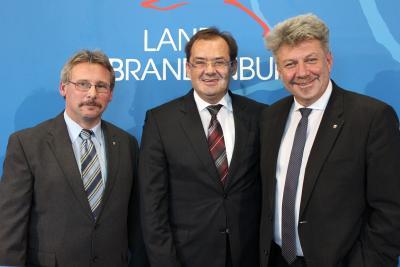 Foto zur Meldung: Wittstock/Dosse erhält Zuschlag für Landesgartenschau 2019
