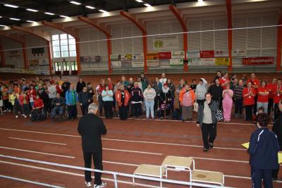 Foto zur Meldung: 16. Kreissportfest für Menschen mit Behinderungen
