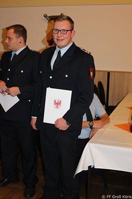 Foto zur Meldung: 13.11.2015 Auszeichnungsveranstaltung FF Amt Schenkenländchen in Halbe