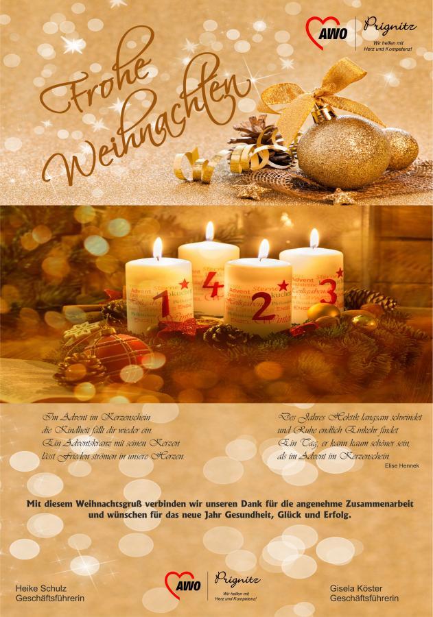 Herzliche Weihnachtswünsche.Awo Prignitz De Herzliche Weihnachtsgrüße