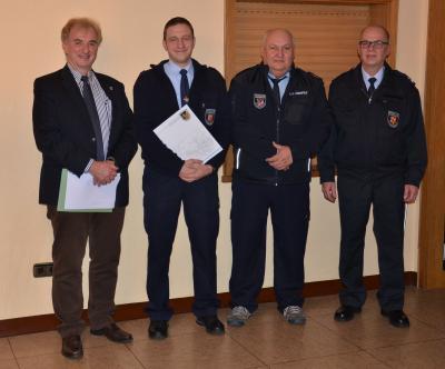 Foto zu Meldung: Andre Korbion zum stellvertretenden Wehrführer ernannt