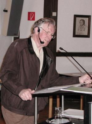 Foto zur Meldung: Das eigene Sterben lernen - Vortrag mit Prof. Dr.Knud Eike Buchmann