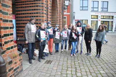 Foto zur Meldung: IGS-Schüler engagieren sich ehrenamtlich für Leprahilfe