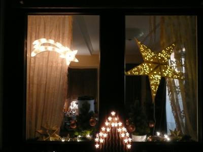 Vorschaubild zur Meldung: Adventsfenster in der Gemeinde