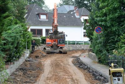 Foto zu Meldung: Ausbau der BelauerStraße